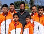 पिथौरागढ़ से इंटरनेशनल कराटे प्रतियोगिता के लिए खिलाड़ी श्रीलंका रवाना