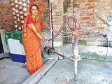 बहेड़ी प्रखंड के दर्जनों गांवों में जल संकट गहराया