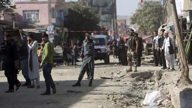 Image result for अफगानिस्तान में चुनावी रैली के दौरान बम विस्फोट