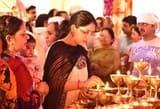 नवरात्र के पहले दिन मंदिरों में उमडी श्रद्धालुओं की भीड़