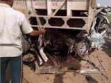 सोनभद्र: खड़े ट्रक में पीछे से घुसी कार, दो की मौत