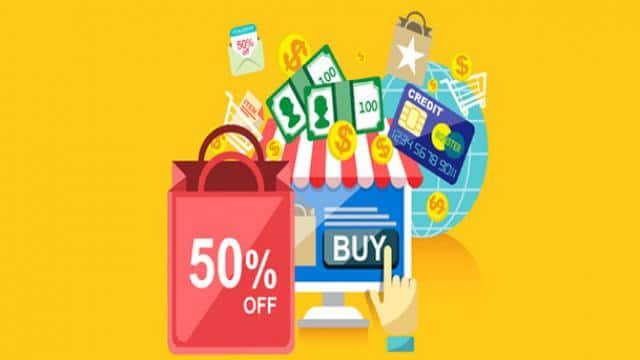 Discounts on online Shopping (Symbolic Image)