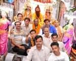 लखना में हर्षोल्लास से निकली भगवान राम की बारात