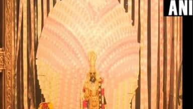 Goddess Kanyaka Parameshwari in Visakhapatnam's Vasavi Kanyaka Parameswari Temple