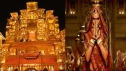 कोलकाता के दुर्गा पूजा पंडालों के साथ हुई 'पद्मावत' की वापसी, देखें