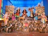 रामगढ़ में श्रद्धालुओं के लिए कल खोला जाएगा पूजा पंडाल