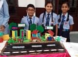 बाल वैज्ञानिकों ने मॉडलों से दिखाई प्रतिभा