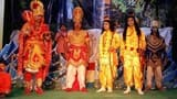 प्रभु श्री राम और हनुमान मिलन का किया मंचन
