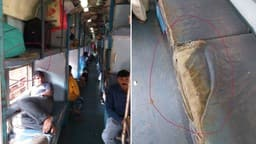Journey of passengers in poorabiya express old berth and ragged mattress of LHB coach for anand v