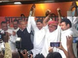 Analysts say Manvendra Singh's entry will give the Congress a hold among the Rajput community that h