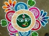 Dusshera 2018 rangoli designs
