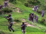 Three unidentified terrorists were killed in a failed infiltration bid along the LoC in Jammu and Ka
