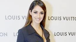 Bollywood actresses during the store relaunch of Louis Vuitton in New Delhi