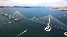China Hong Kong bridge, worlds longest bridge, longest bridge, worlds longest sea bridge, foreign ne