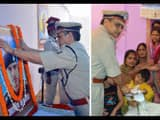 DGP KS dwivedi reached shaheed Ashish home and announced will be honored for gallantry award