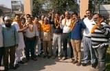 विकासनगर पालिका के लिए कांग्रेस प्रत्यशी देवानंद पाशी ने नामांकर भरा