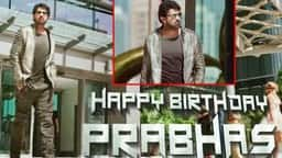 Prabhas Birthday, saaho first look, Baahubali,