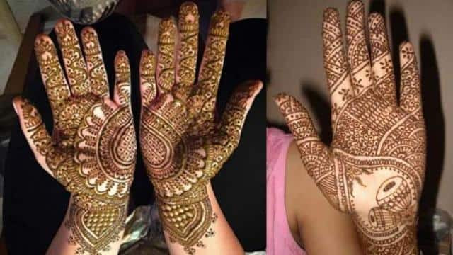latest mehndi design 2018