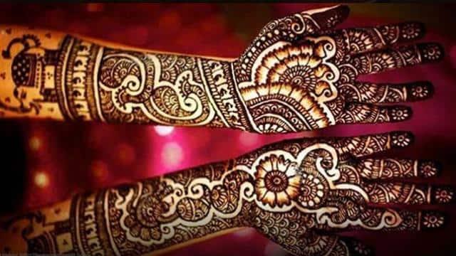 karwa chauth 2018 apply these rajasthani mehandi designs on