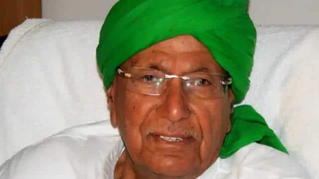 Former Haryana Chief Minister Om Prakash Chautala (HT Photo)
