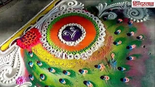 Rangoli Design Image, Diwali Rangoli Design