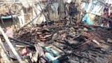 यहां गैस रिसाव से तीन घरों में लगी आग, लाखों का नुकसान