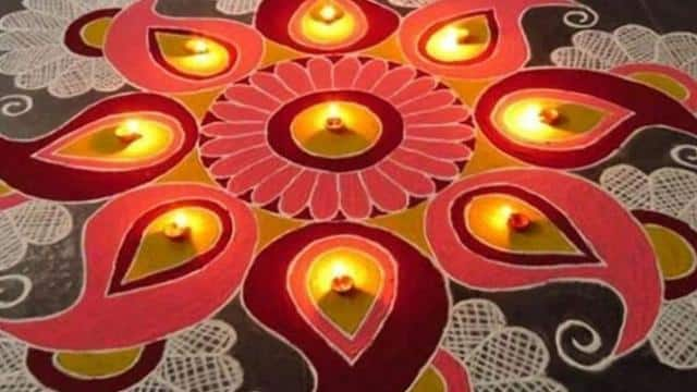 Rangoli 2018: decorate home this diwali with these simple and easy angoli design see rangoli images
