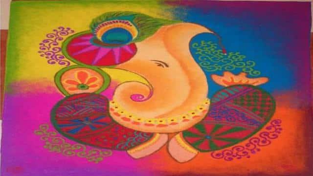 latest rangoli designs, rangoli designs 2018