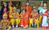 बच्चों ने मनमोहक झांकियां से मोहा दर्शकों का मन