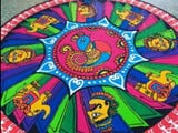 decorate home with these latest and simple rangoli design