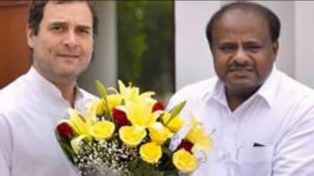 Testing ground with their alliance, the Congress and Janata Dal Secular have scored a 4:1 win over t