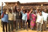 दीपावली पर राशन न मिलने से नाराज ग्रामीणों का प्रदर्शन