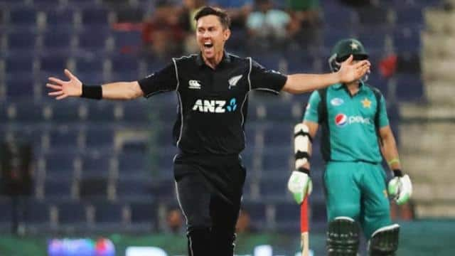 Boult hat-trick New Zealand beat Pakistan by 47 runs in first ODI