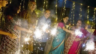 festival of lights deepawali celebrated across the country with traditinal fath and joy