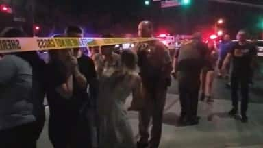 several injured after gunman fires at least 30 shots in california bar in america