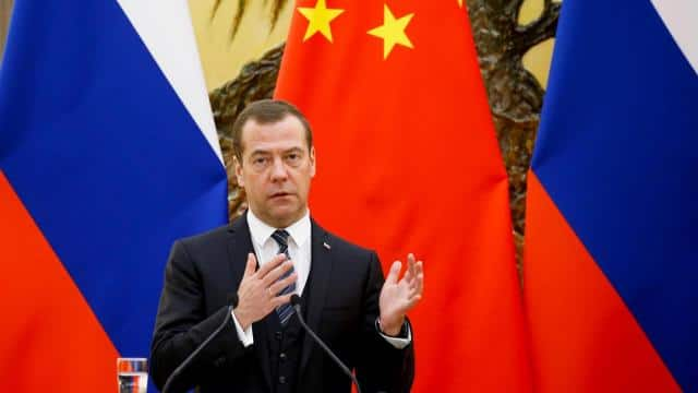 Russian Prime Minister Dmitry Medvedev (Photo Reuters)