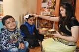 हर्षोल्लास के साथ मनाया गया भईयादूज का त्योहार