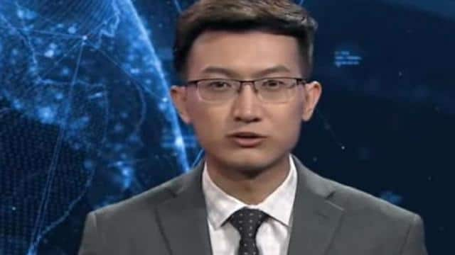 The world first  AI news anchor has gone live in China