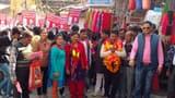 पौड़ी में निर्दलीय प्रत्याशी संजय नेगी ने नगर भ्रमण कर मांगे वोट
