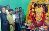विधायक ने बंगोई काली मंदिर में की पूजा