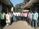 ग्रामीणों ने किया कंपनी लगाने का विरोध, थाने में शिकायत दर्ज