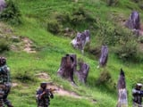 Security forces on Saturday gunned down two heavily armed terrorists hiding in a village in Jammu an
