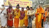 रामायण मेला सद्भावना यात्रा का लालगोपालगंज में स्वागत