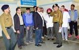 सैन्य अधिकारियों ने किया मेडिकल कॉलेज का निरीक्षण