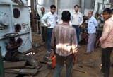 चीनी मिल में टैंक के अंदर गैस पाइप फटा, दो मजदूर झुलसे