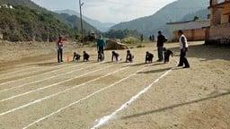 गुरुरामराय पब्लिक स्कूल में खेल प्रतियोगिता शुरू