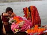 जमशेदपुर: अस्ताचलगामी सूर्य को अर्घ देने उमड़ा सैलाब