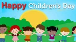 Childrens Day image, Childrens Day 2018, November 14 Childrens Day