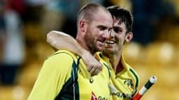 File Photo: John Hastings and Mitchell Marsh