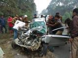 Road accident in Gonda Faizabad Highway